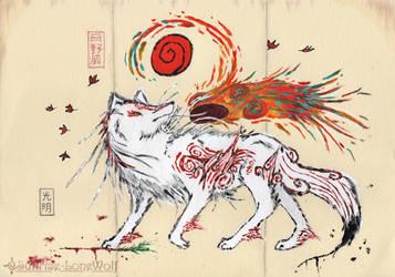 White Wild Majesty by Sunrise-LoneWolf