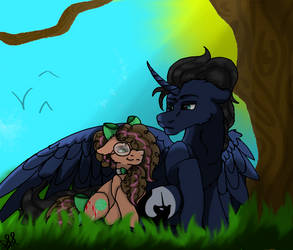 NG Best Friends ( Shadow Moon - Sugar Candy ) by dvd340
