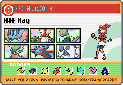 May's Ruby Nuzlocke Trainer Card by liamisgreat