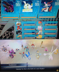 Digimon Cyber Sleuth - Hackers Memory (FINAL TEAM) by liamisgreat