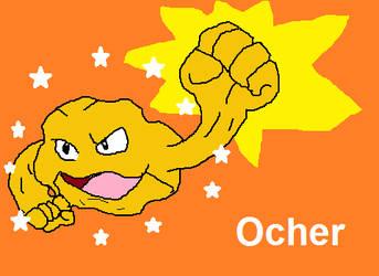 Ocher the Shiny Geodude by liamisgreat