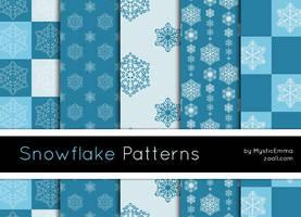 Snowflake Patterns by MysticEmma