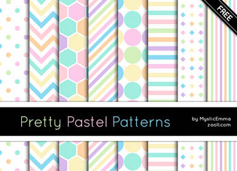 Pretty Pastel Patterns by MysticEmma