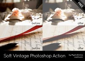 Soft Vintage Photoshop Action by MysticEmma
