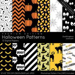 Halloween Patterns - Premium Edition by MysticEmma