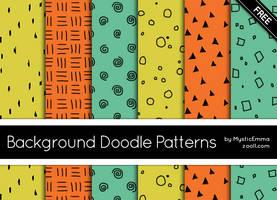 Background Doodle Patterns by MysticEmma