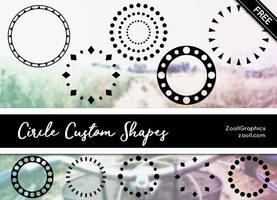 Circle Custom Shapes by MysticEmma