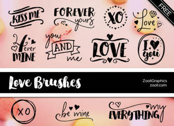 Love Photoshop Brushes by MysticEmma