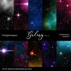 Galaxy Digital Papers by MysticEmma