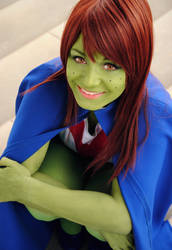 YJ: Miss Martian by Aigue-Marine