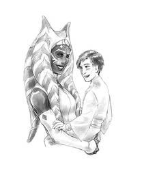 Knight Tano And Initiate Kenobi by croaky