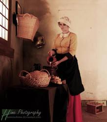 Milkmaid by kaminohime