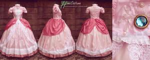 Princess Peach Dress by kaminohime