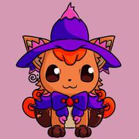 Halloween Vulpix by Eriniin