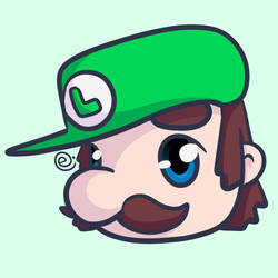 Chibi Luigi by Eriniin