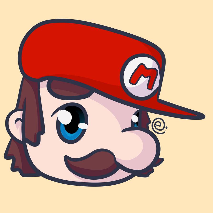 Mario by Eriniin