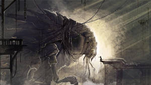 Captured Kaiju by Chiara-Maria