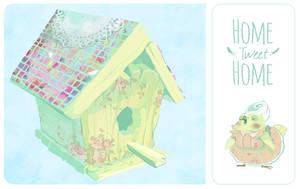 Home Tweet Home by Chiara-Maria