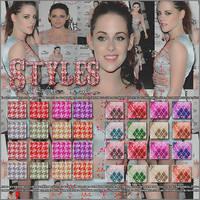 Pack de StylesGlitter FashionKristen S. by Reggaeislove