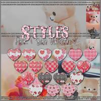 StylesGlitter San Valentin Pack1 by Reggaeislove