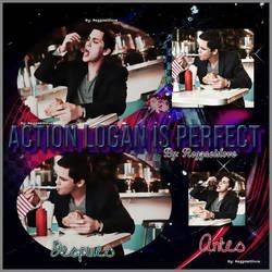 Action LoganL. Is Perfect by Reggaeislove