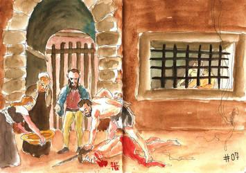 The Beheading of Saint John the Baptist by ErikReis