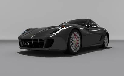 Ferrari 599GTB by hunterkill999