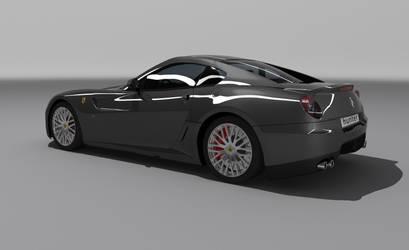Ferrari 599GTB rear by hunterkill999