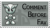comment before fav by FallenSamurai