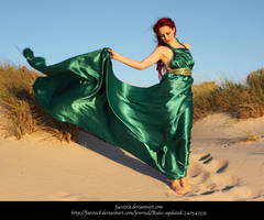 Green Silk Preview by faestock