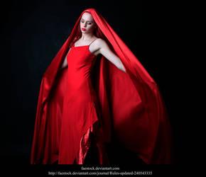 Red silk 7 by faestock