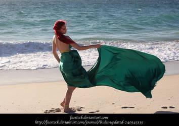 Green Silk 2 by faestock