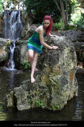 Waterfall11 by faestock