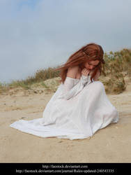 White Beach stock pose reference 3 by faestock