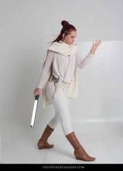 Jedi  - Stock Pose Reference 9 by faestock