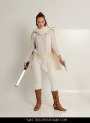 Jedi  - Stock Pose Reference 14 by faestock