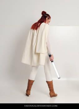 Jedi  - Stock Pose Reference 21 by faestock