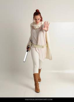 Jedi  - Stock Pose Reference 25 by faestock