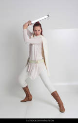 Jedi  - Stock Pose Reference 39 by faestock