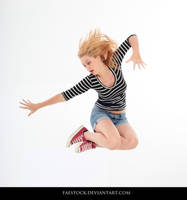 Jumping - Action Pose Reference 6 by faestock