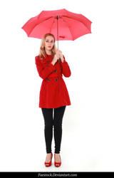 Rainy Days -  model stock reference 2 by faestock