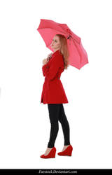 Rainy Days -  model stock reference 10 by faestock