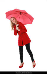 Rainy Days -  model stock reference 8 by faestock