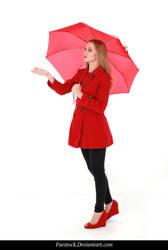 Rainy Days -  model stock reference 12 by faestock