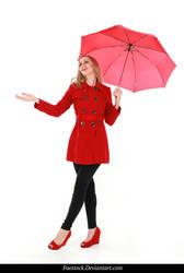 Rainy Days -  model stock reference 20 by faestock