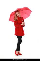 Rainy Days -  model stock reference 16 by faestock