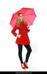 Rainy Days -  model stock reference 17 by faestock