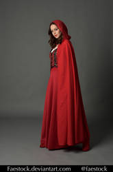 Red riding hood  - Stock model reference 1 by faestock