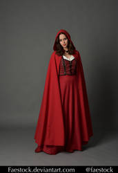 Red riding hood  - Stock model reference 2 by faestock