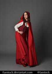 Red riding hood  - Stock model reference 7 by faestock